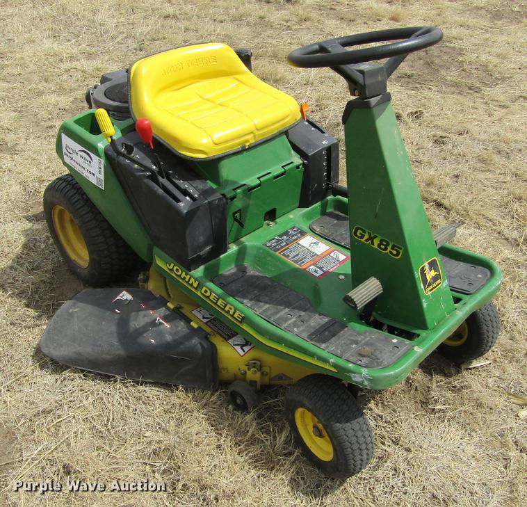John Deere GX85 lawn mower