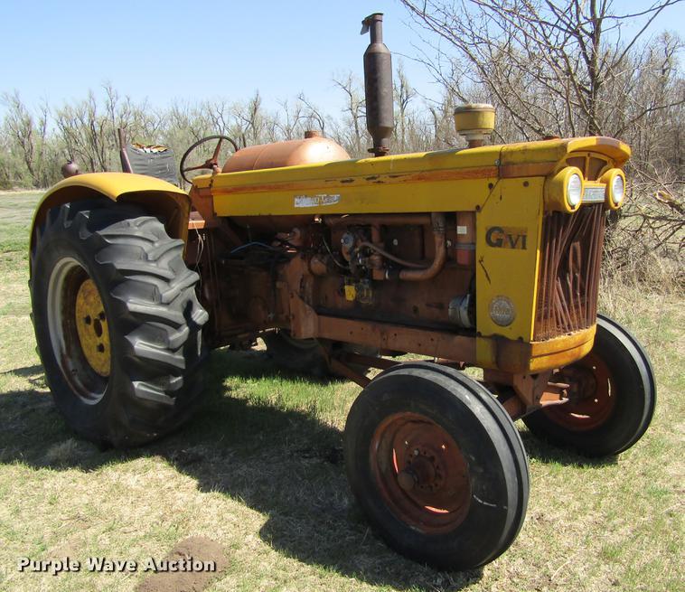 Minneapolis Moline GVI tractor