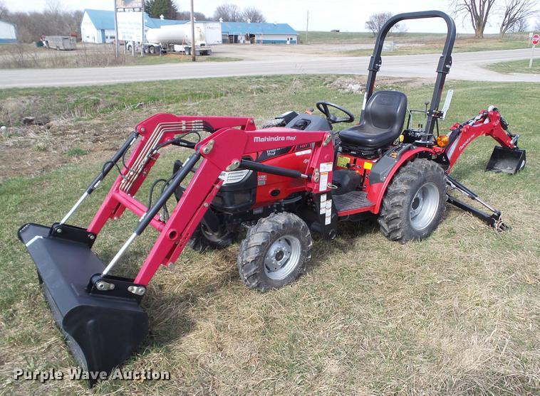 2015 Mahindra MAX26XLHST MFWD tractor