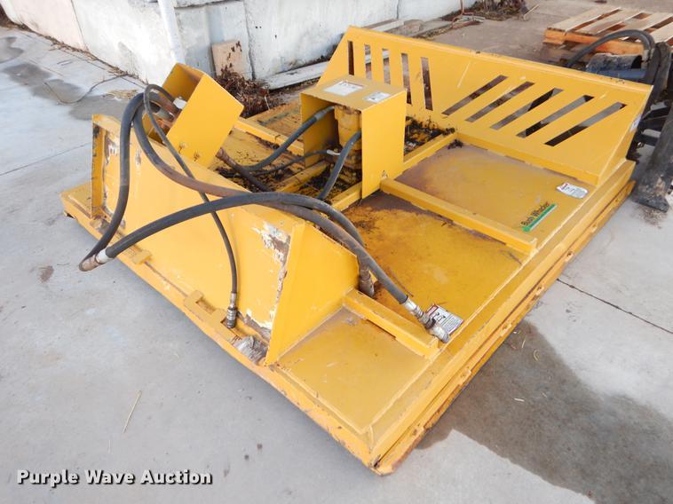 Bush Wacker skid steer brush mower