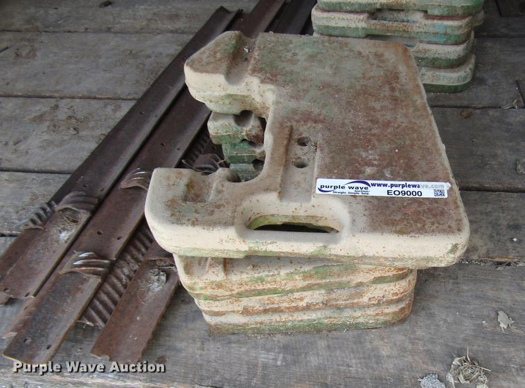 (20) John Deere tractor weights