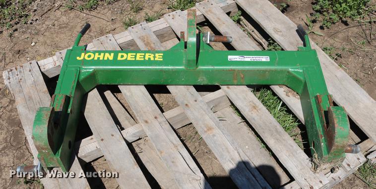John Deere three point quick attach