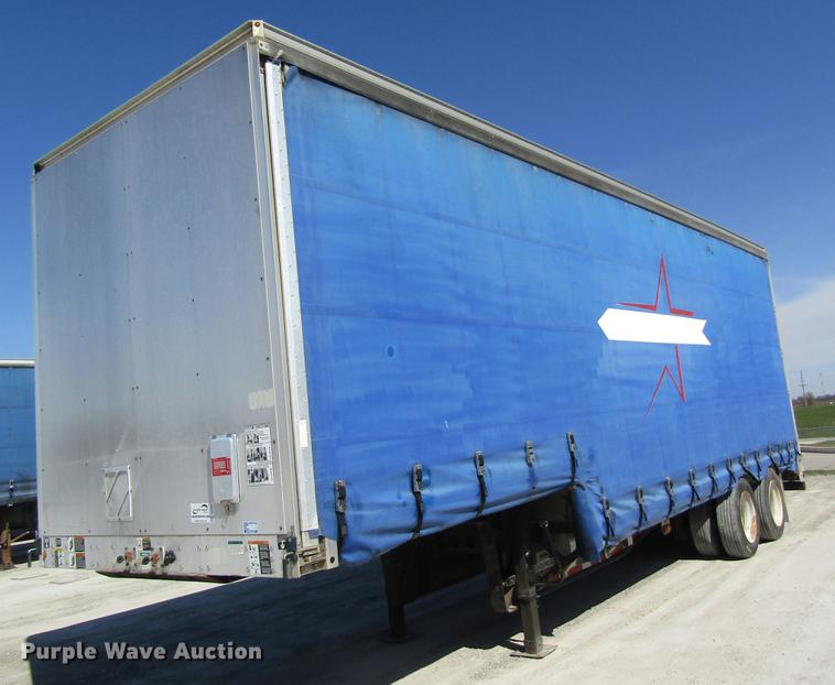 2011 Wilson CFD-900 side curtain trailer