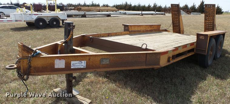 1999 Belshe T-1 equipment trailer