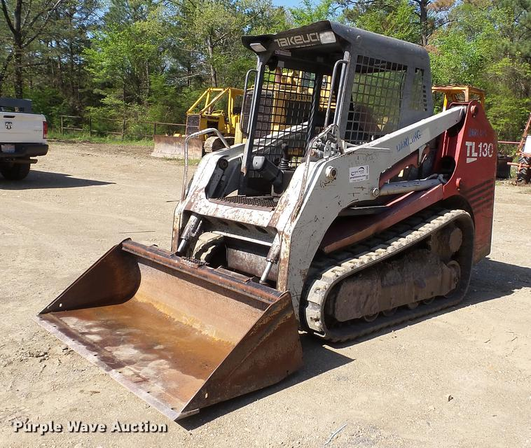 2006 Takeuchi TL130 skid steer