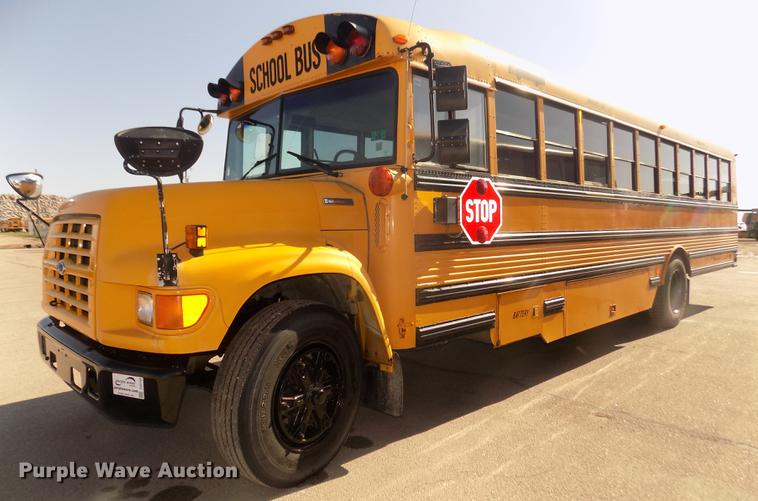 1996 Ford B800 Thomas school bus