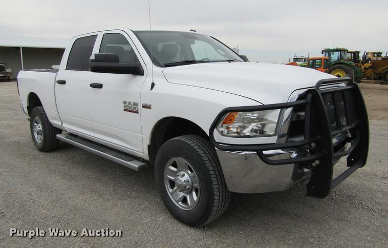 2015 Dodge Ram 2500HD Quad Cab pickup truck