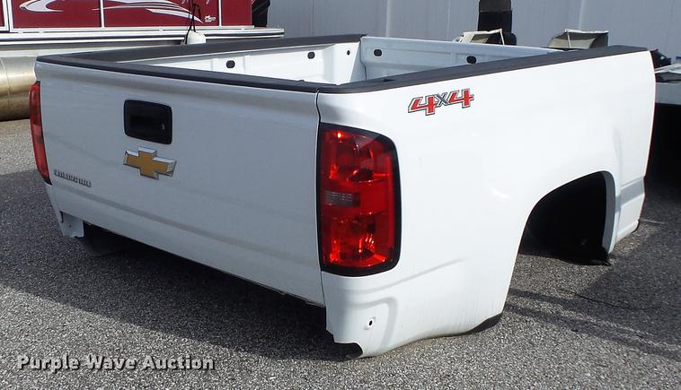 2017 Chevrolet Colorado pickup truck bed