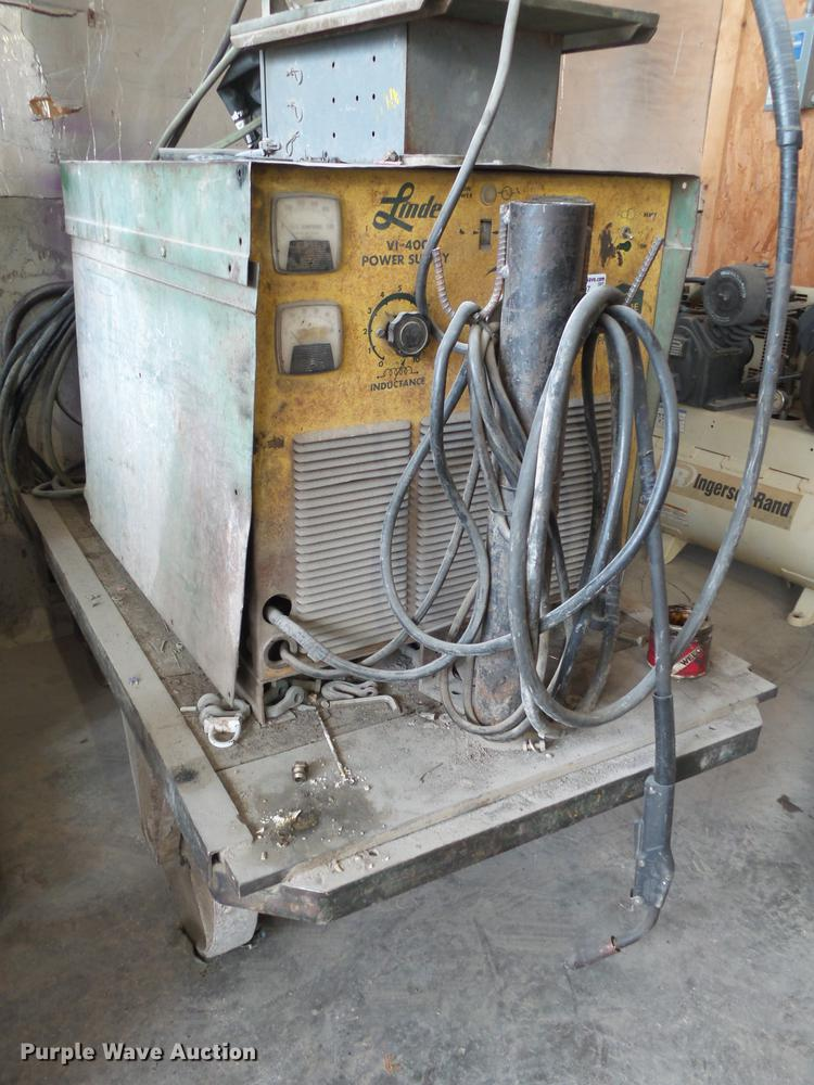 Union Carbide mig welder