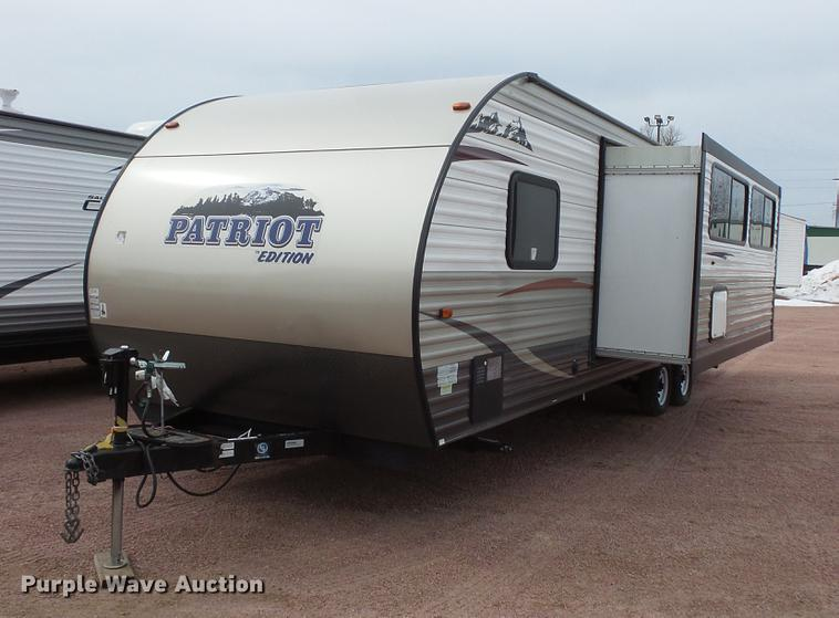 2015 Forest River 26DH Patriot camper