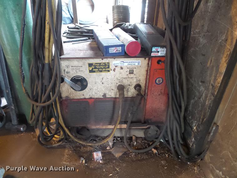 Westinghouse DC arc welder