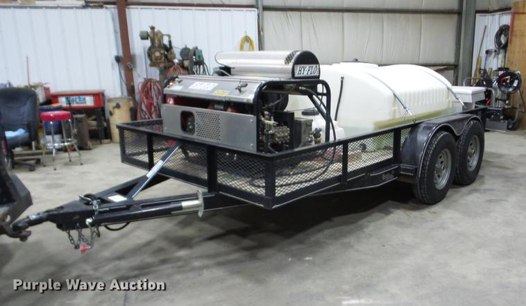 2008 Kodiak utility trailer with pressure washer