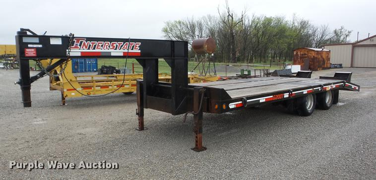 2008 Interstate G20DT equipment trailer