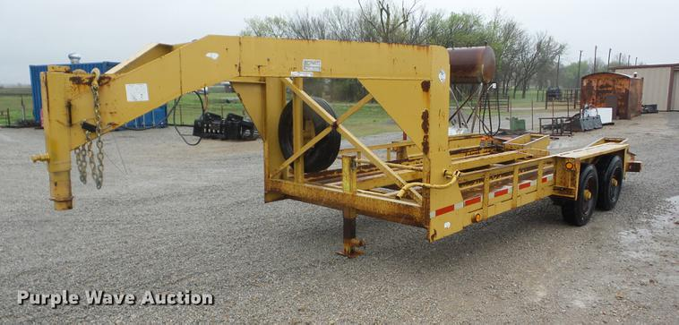 2002 Belshe T-18 equipment trailer