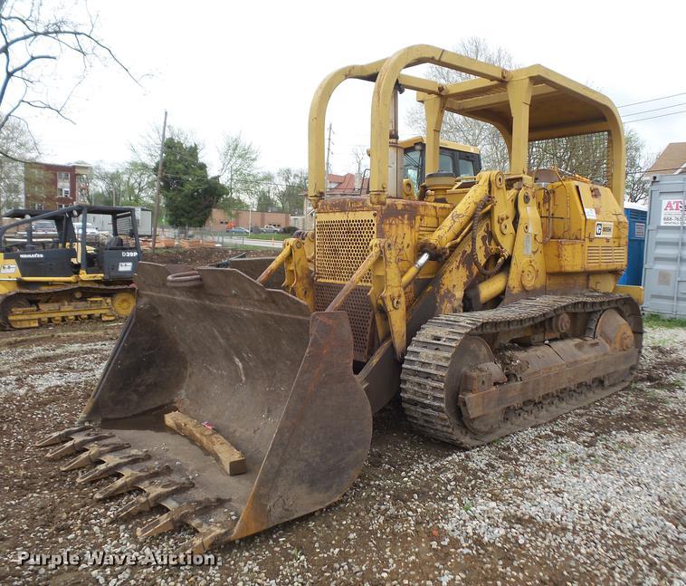 1970 Caterpillar 955K track loader