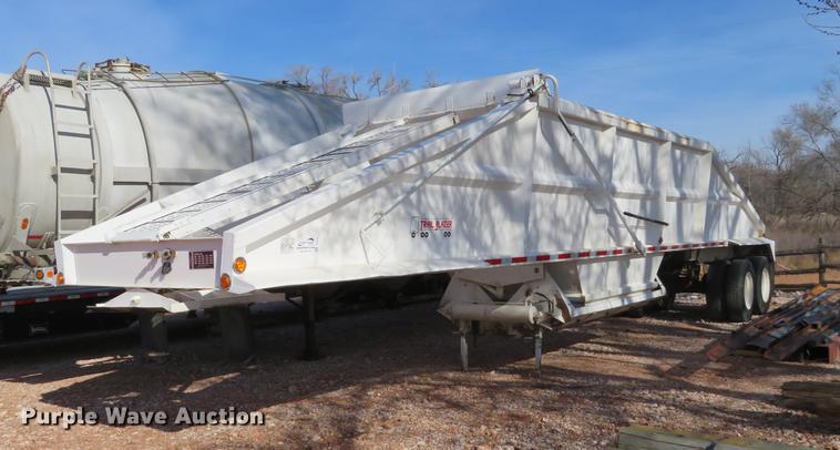 1998 Trail Blazer S-4202 bottom dump trailer