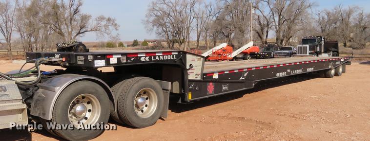 2016 Landoll 440A tilt deck trailer