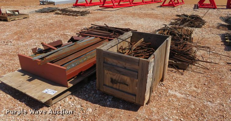(8) pallets of re-bar