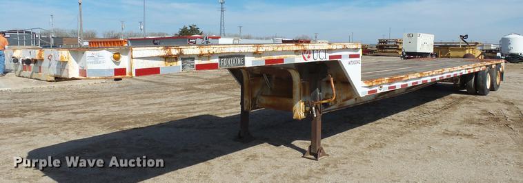 1975 Fontaine DPT-2-5042 drop deck trailer