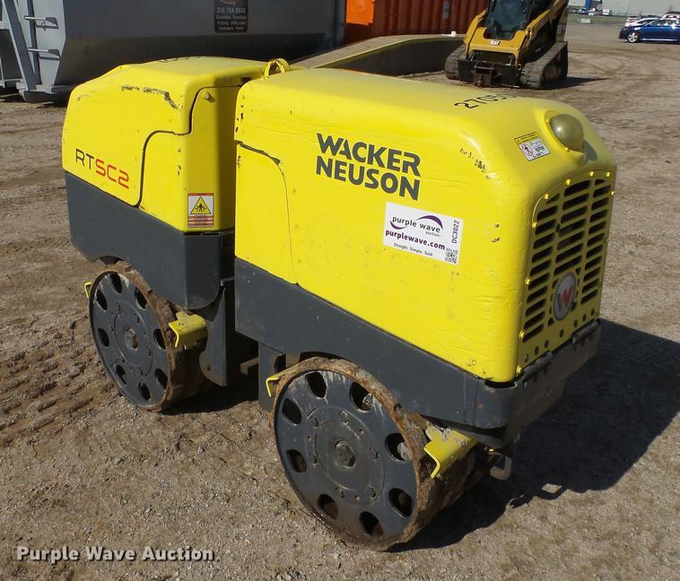 Wacker Neuson RTSC2 trench compactor