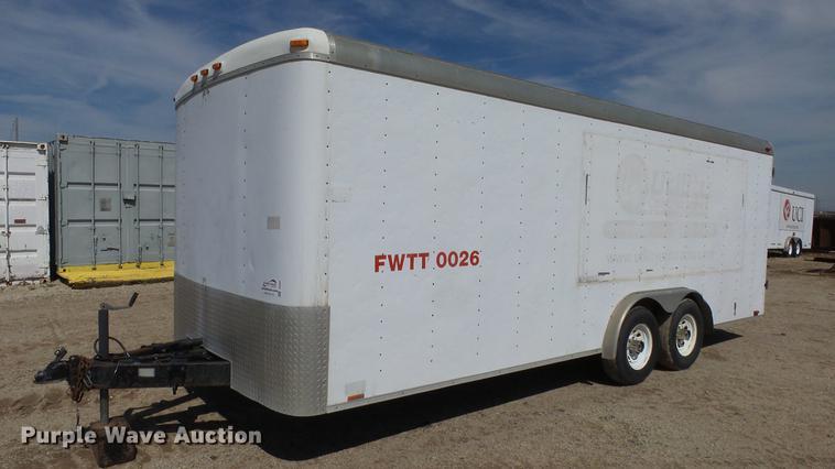 2000 Cargo Mate CM820TA3 enclosed cargo trailer