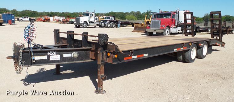 2005 Belshe equipment trailer