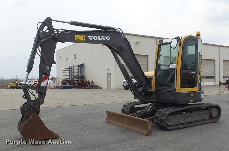 2013 Volvo ECR58 mini excavator