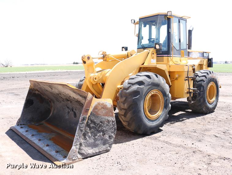 1996 Caterpillar 960F wheel loader