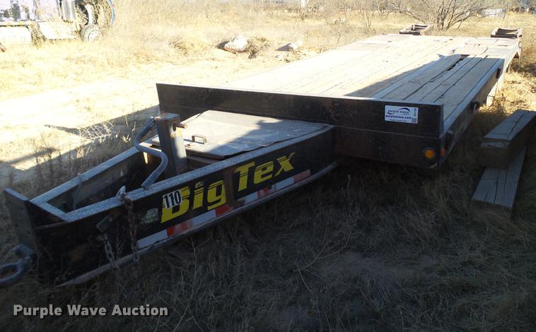 2003 Big Tex equipment trailer