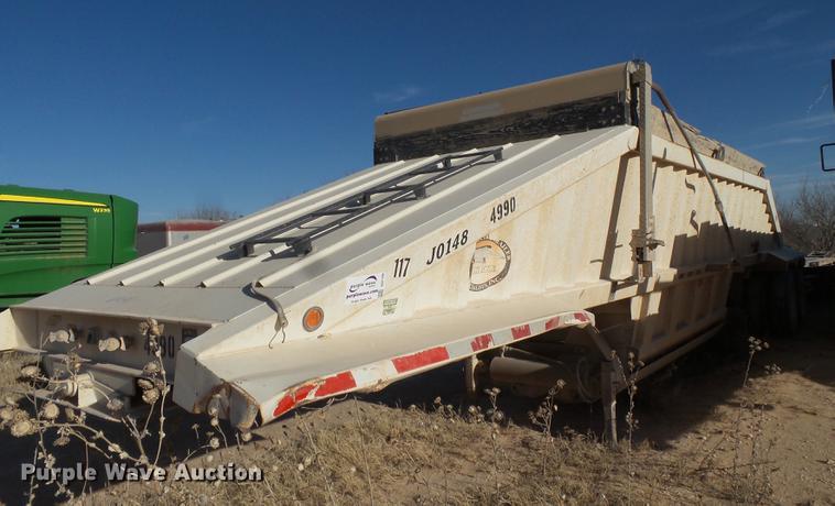 2008 CTS BDT-40LP bottom dump trailer