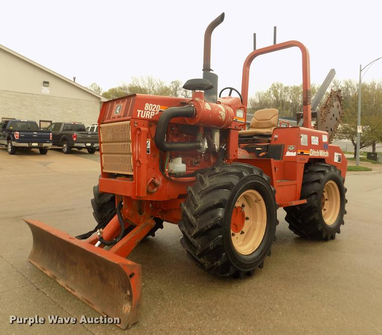 1998 Ditch Witch 8020T trencher