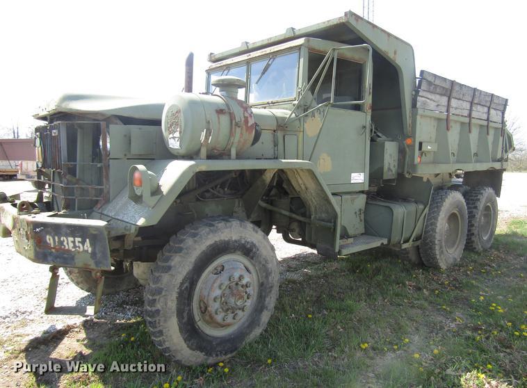 1972 Am General dump truck