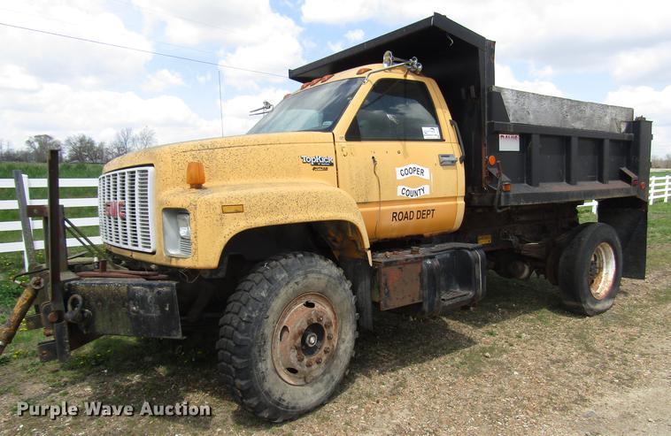 1993 GMC TopKick dump truck