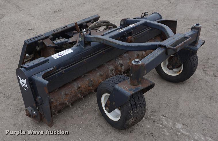 Bobcat skid steer soil conditioner