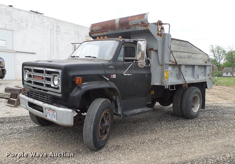 1986 GMC TopKick dump truck