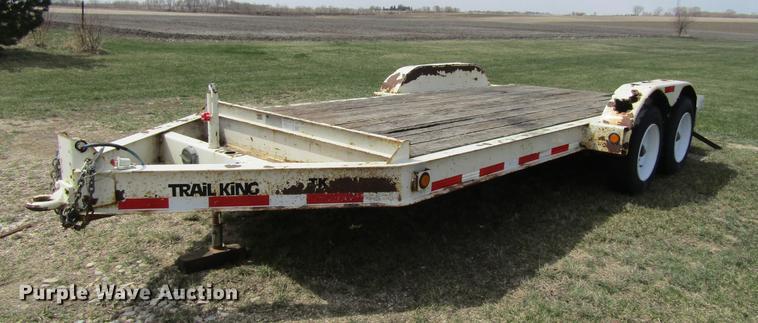 2008 Trail King TK140-162 equipment trailer