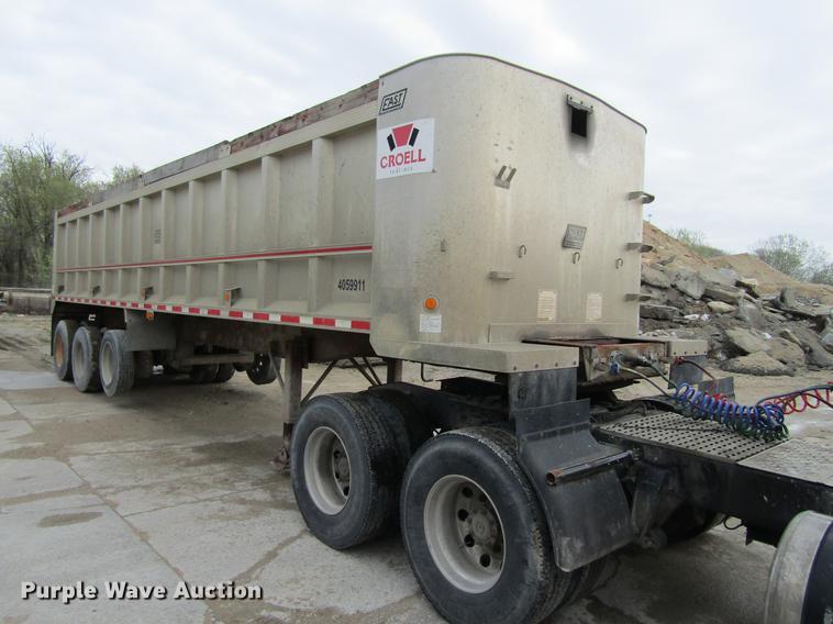 1998 East Randolph Eastern end dump trailer