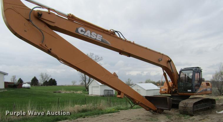 2001 Case CX240 long reach excavator