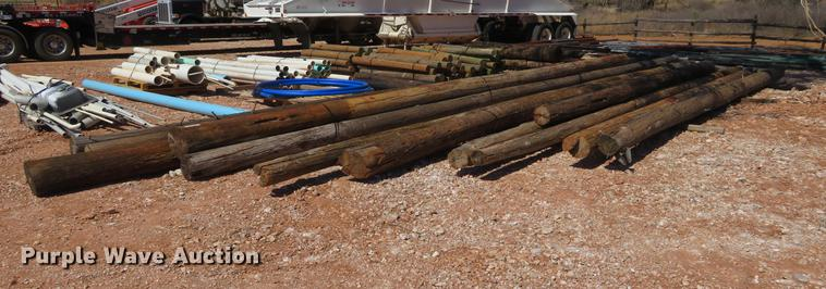 (5) bundles utility poles