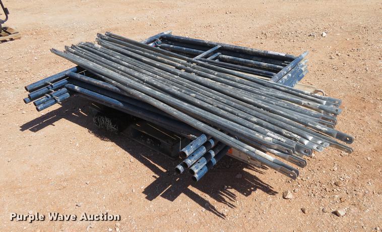 (4) Metal Tech scaffolding tiers