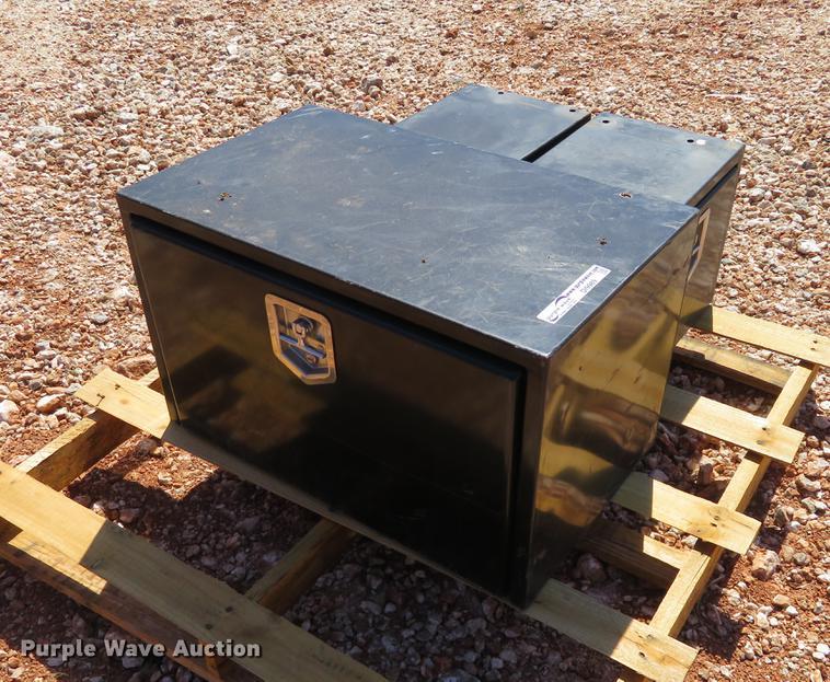 (3) steel toolboxes