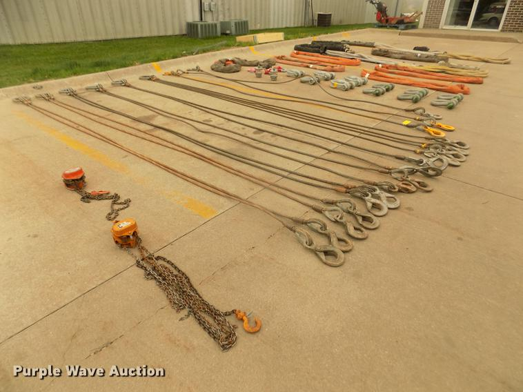 Crane and rigging supplies