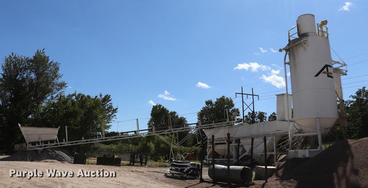 Ross Super 100 Uniplant concrete batch plant