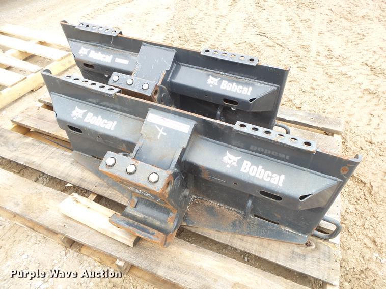 (2) skid steer breaker frames