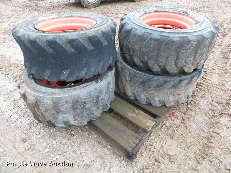 (4) Bobcat 12 x 16.5 tires