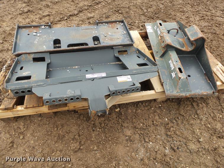 (3) Bobcat breaker frames