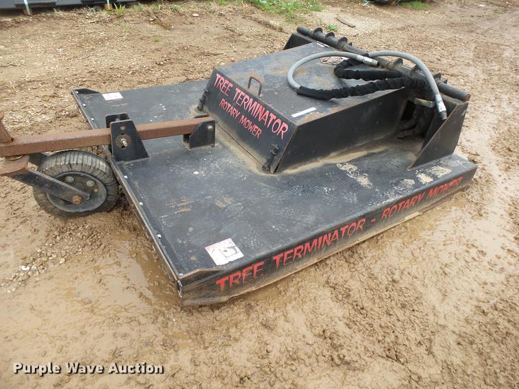 Terminator RM6000 skid steer mower
