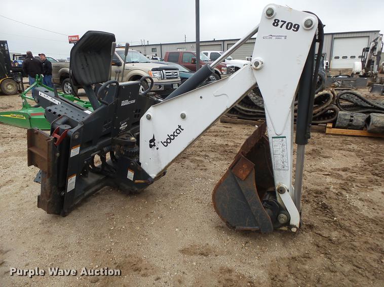 Bobcat 8709 backhoe attachment