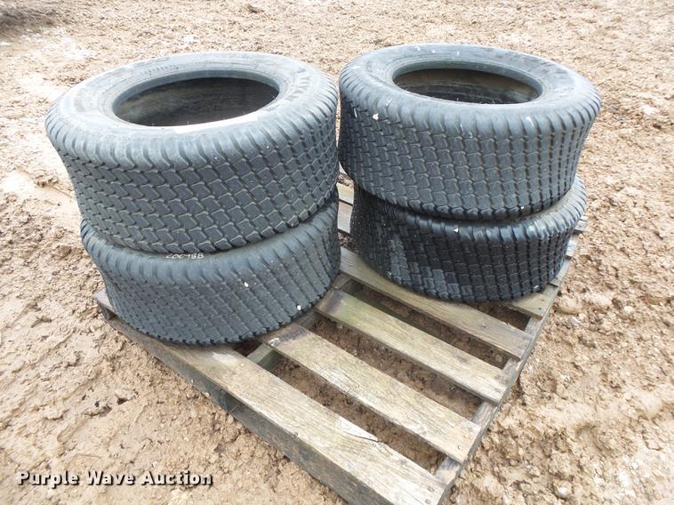 (4) Titan 27 x 10.50-15 turf tires
