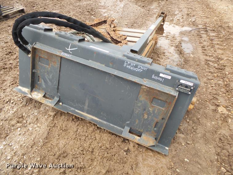 Bobcat LT313 skid steer trencher